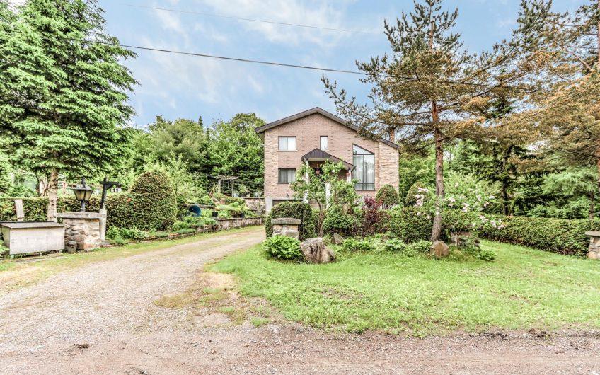 cottage sur un superbe domaine