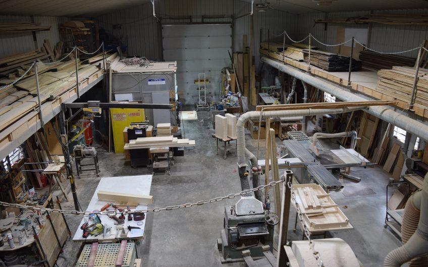 bâtisse commercial et semi industriel